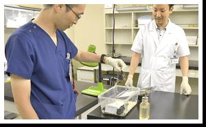 最新の治療、研究に余念のない環境